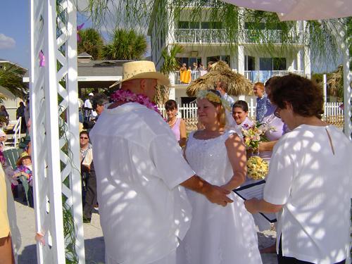 J & M ceremony